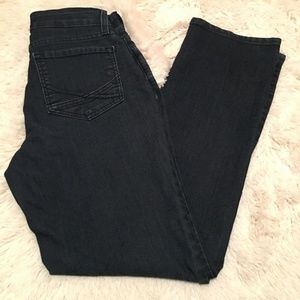 NYDJ Marilyn Straight Dark Denim Stretch USA Jean